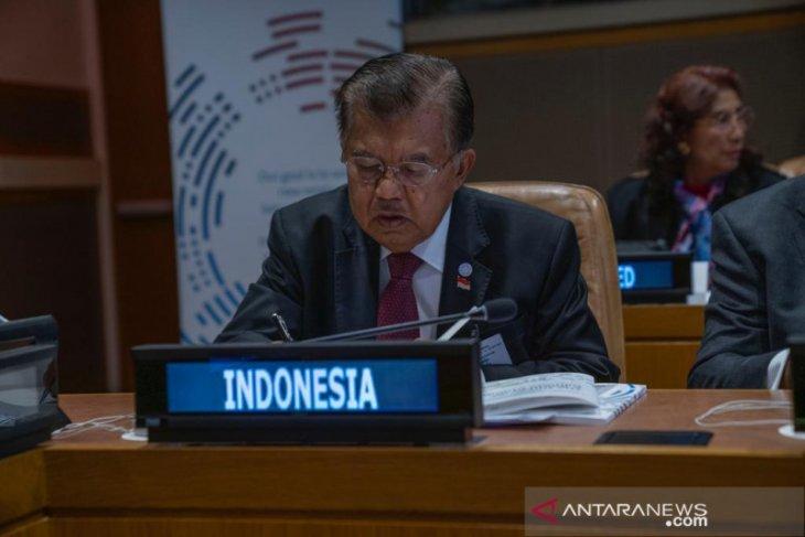 Wapres JK bantah ada usulan referendum Papua di SU PBB