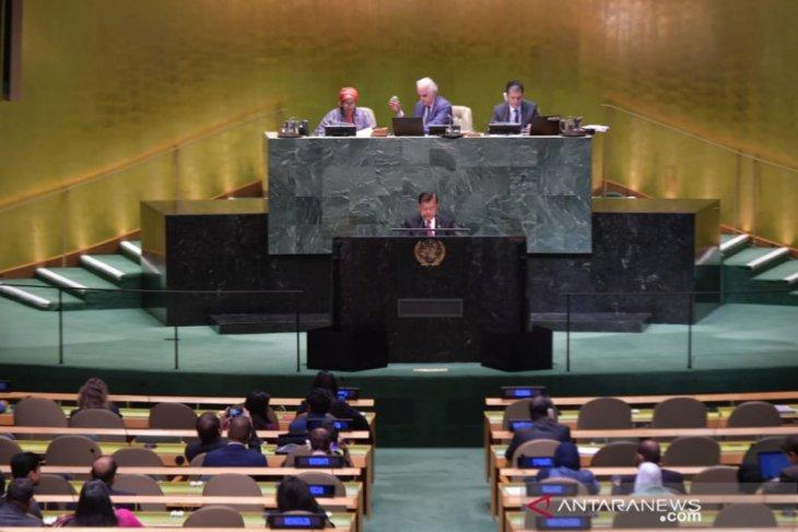 Sidang Majelis Umum PBB - Wapres JK: Indonesia berkomitmen tinggi dalam menjunjung HAM