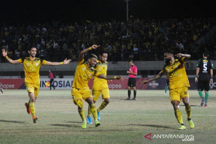 Barito Putera conquers Persebaya 1-0