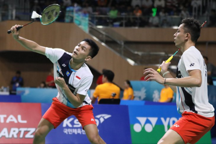 Korea Open 2019 - Fajar/Rian tantang unggulan keempat di final