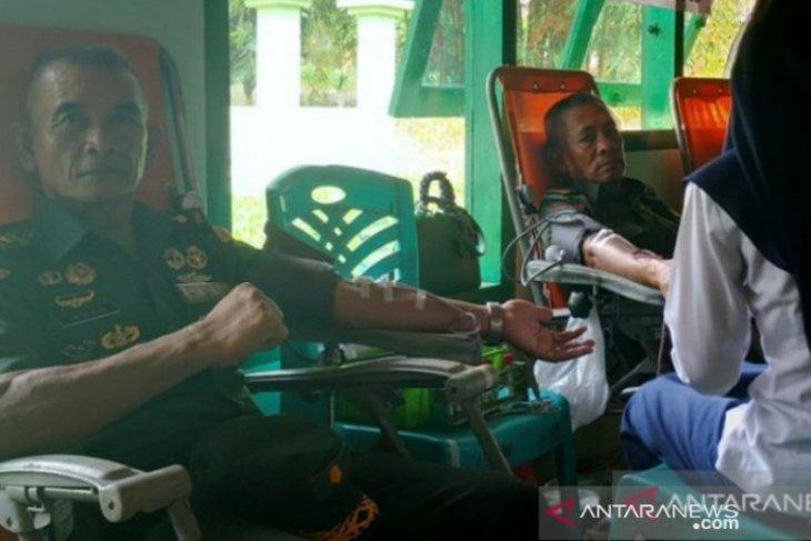 Peringati HUT TNI, Korem 045 gelar Bhakti Sosial pengobatan gratis