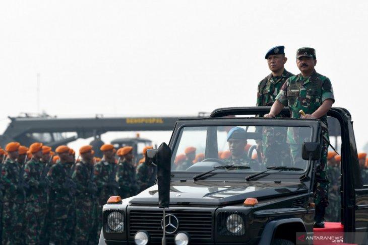 TNI kerahkan 6.000 personel amankan pelantikan anggota DPR/MPR RI