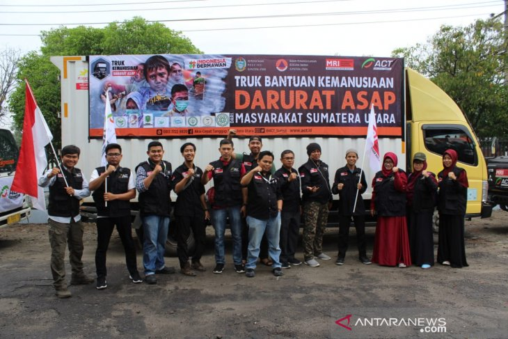 ACT Sumut kirim 12 ton bantuan logistik untuk korban karhutla di Riau