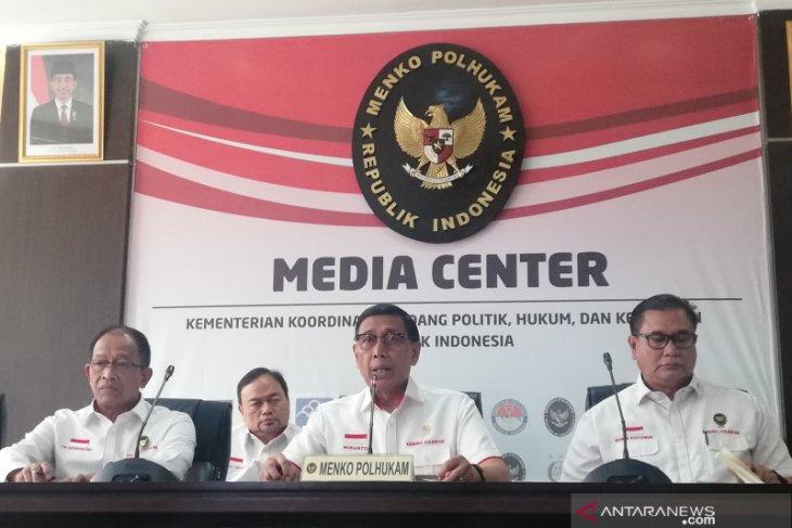 Wiranto Pengungsi di Jayapura mencapai 3.225 orang