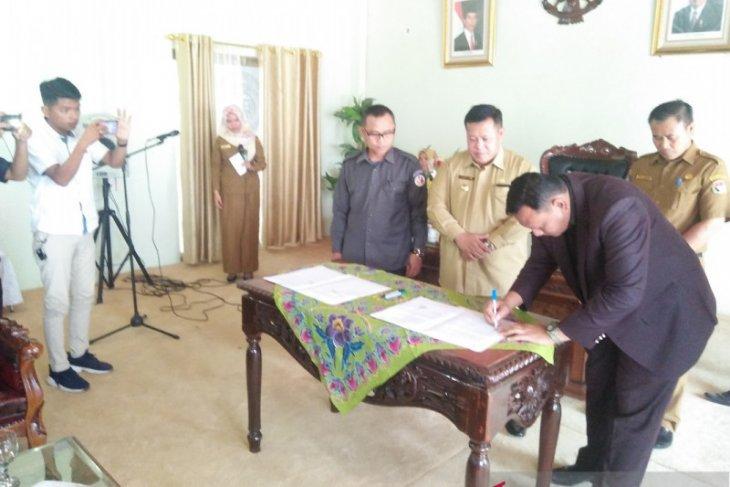 KPU: Penandatanganan NPHD  perdana di Kabupaten Mukomuko