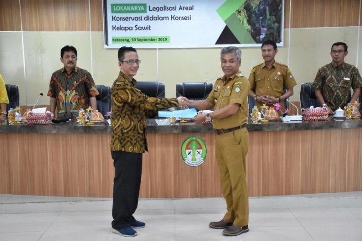 Bupati Ketapang harapkan rumusan legalisasi area konservasi di wilayah konsesi