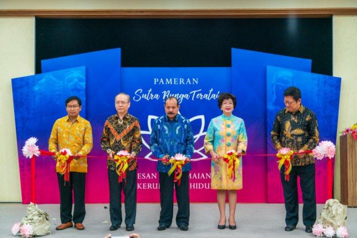 Pameran Cagar Budaya Sutra Bunga Teratai promosikan semangat perdamaian