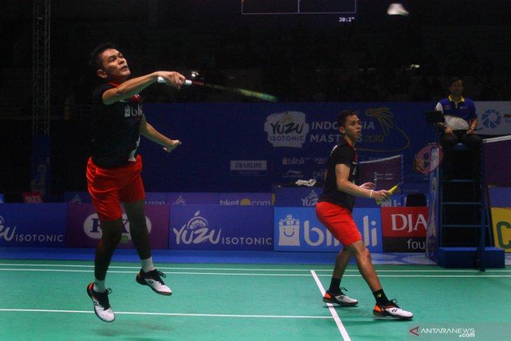 Hentikan Liao/Su, Fajar/Rian ke babak dua Fuzhou China Open 2019