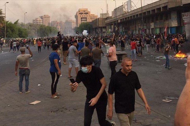 Protes lanjutan di Irak tewaskan sedikitnya 40 orang