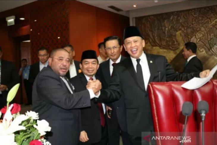 Bamsoet ditetapkan sebagai Ketua MPR periode 2019-2024