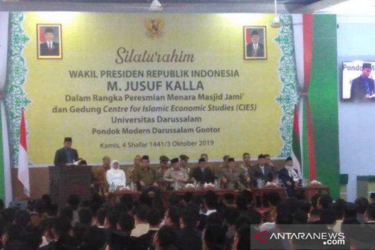 Kalla inaugurates Center for Islamic Economic Studies in East Java