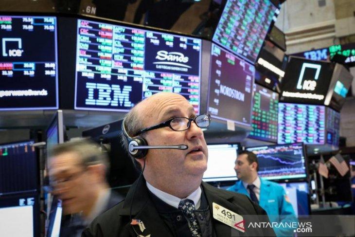 Info bisnis  - Wall Street menguat di tengah risalah The Fed dan harapan perdagangan