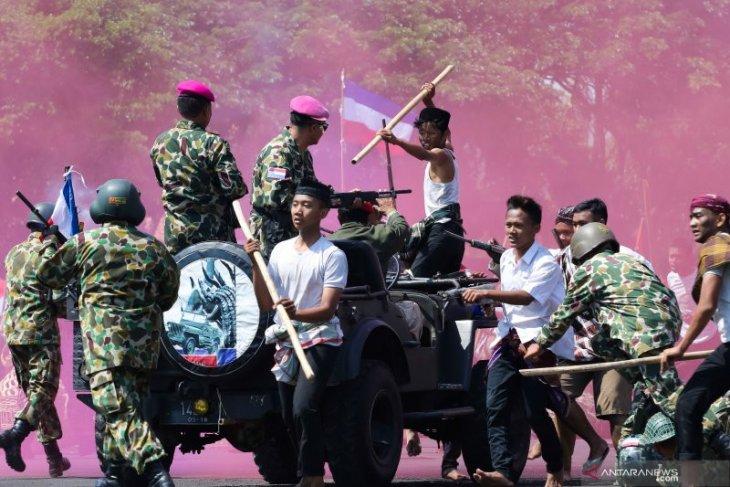 Gartap III Surabaya pameran alutsista di Bumimoro