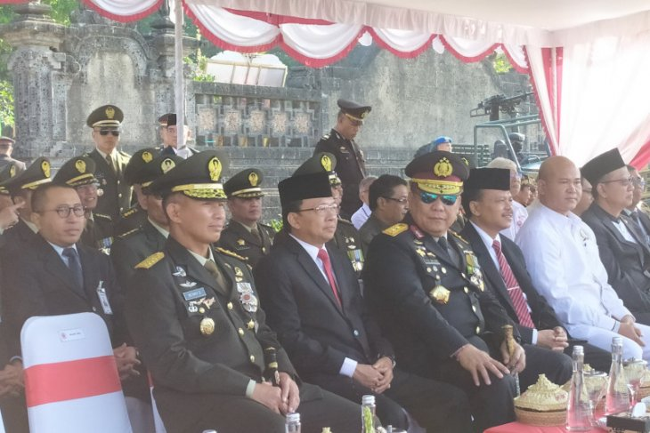 Kapolda Bali: TNI dan Polri merupakan tulang punggung keamanan