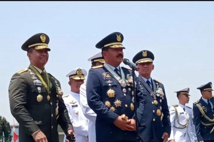 Panglima TNI: Drone CH4 jadi pembeda peringatan HUT Ke-74