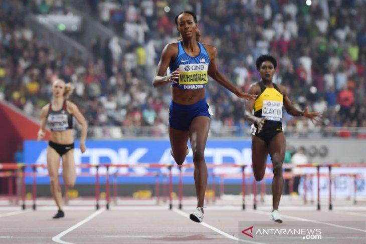 Dalilah Muhammad ciptakan rekor dan raih emas lari gawang 400m putri