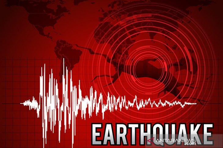 Gempa bumi kembali getarkan Ambon Kamis pagi