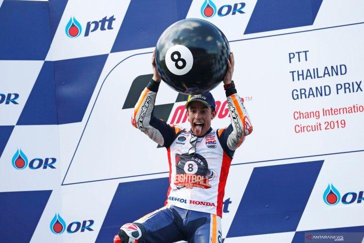 Berikut daftar juara dunia MotoGP sepuluh tahun terakhir, tanpa Rossi