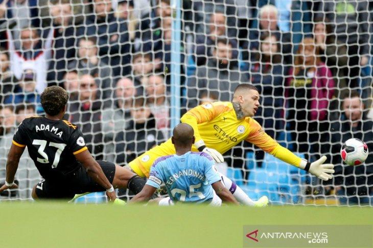 Manchester City dibekuk Wolverhampton 0-2 di kandang sendiri