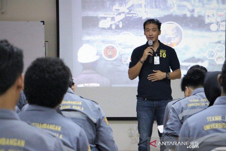 Puluhan mahasiswa Unsyiah belajar ke tambang batu bara di Aceh Barat