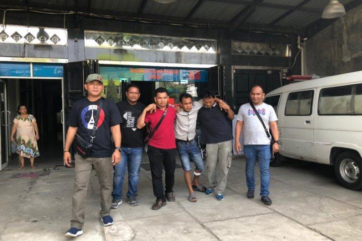 Hendak melarikan diri, pembawa ganja dari Aceh ditembak polisi Langkat