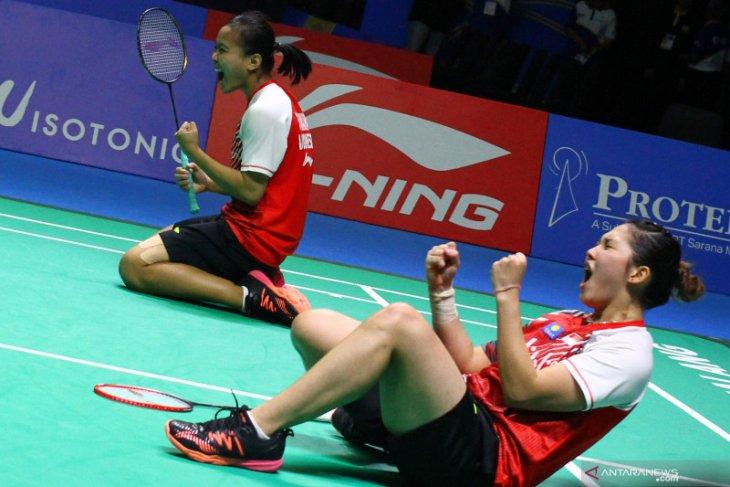 Siti/Ribka juara ganda putri Indonesia  Masters 2019