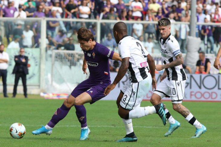 Liga Italia - Fiorentina menyodok ke peringkat delapan setelah tundukkan Udinese