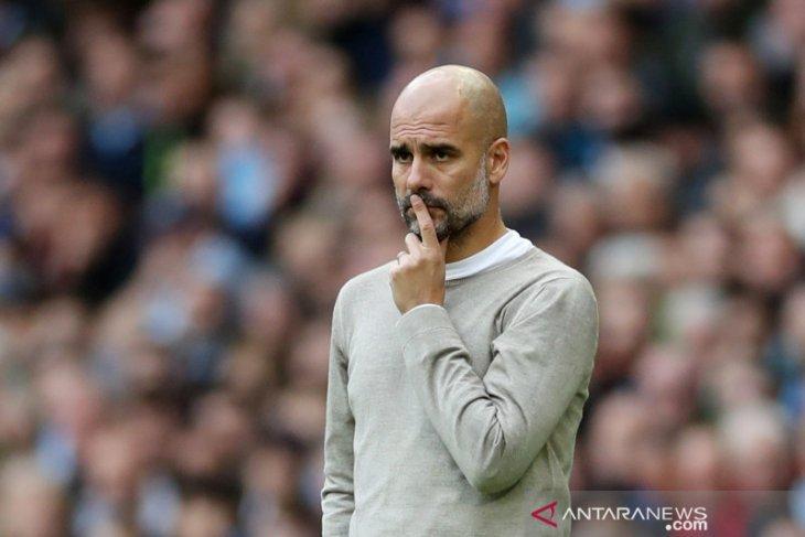 Liga Inggris - Takluk 0-2 di kandang sendiri, Guardiola puji pertahanan Wolverhampton