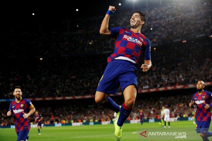 Pemain Barca total dapat bonus 92 juta euro