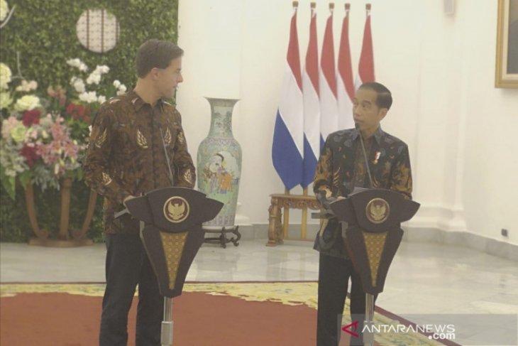 Presiden sampaikan apresiasi kerja sama RI-Belanda terkait sawit lestari
