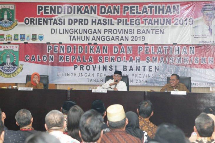 Tingkatkan mutu pendidikan, Pemprov Banten diklat calon kepala sekolah SMA/SMK
