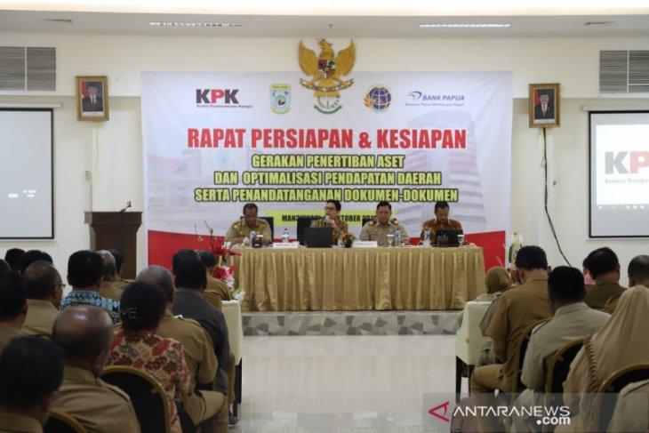 KPK terus kawal penertiban aset Pemprov Papua Barat