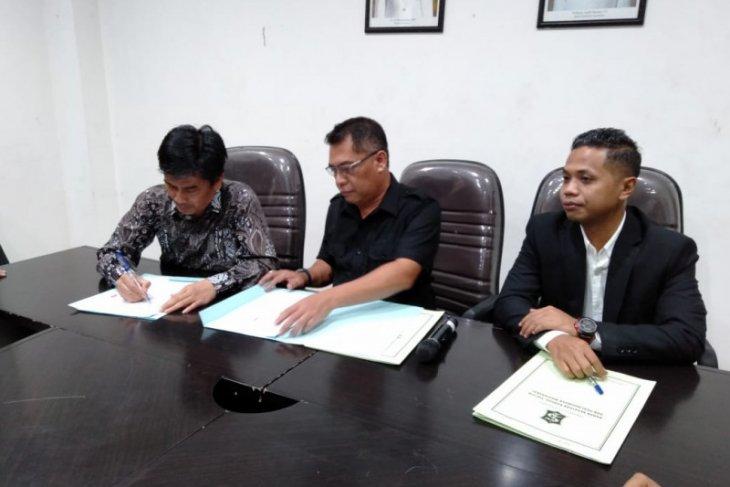 NPHD ditandatangani, anggaran Pilkada Surabaya aman
