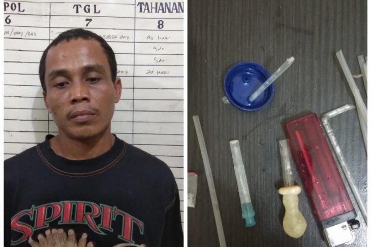 Operasi Antik Toba 2019, Polisi Binjai Utara tangkap pemilik narkotika