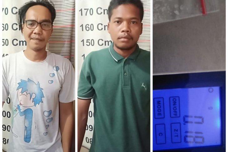 Operasi Antik Toba 2019, Polisi Tanjung Pura Langkat ringkus dua pemilik sabu-sabu