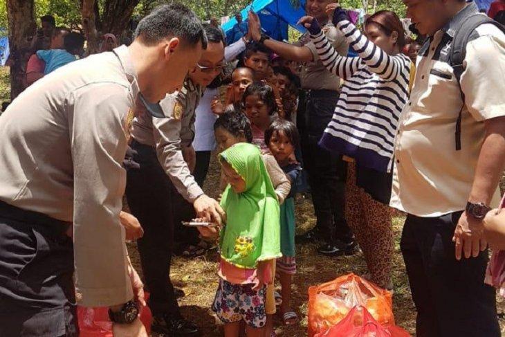 Polda Maluku beri konseling psikologi bagi korban gempa