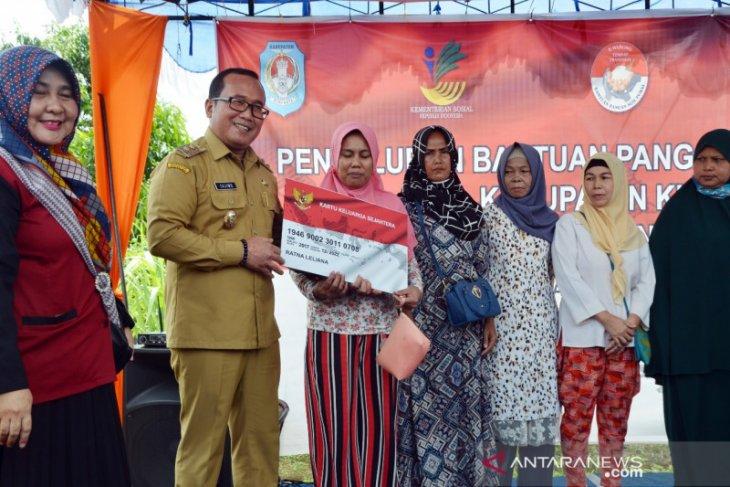 Kubu Raya luncurkan program bantuan pangan nontunai