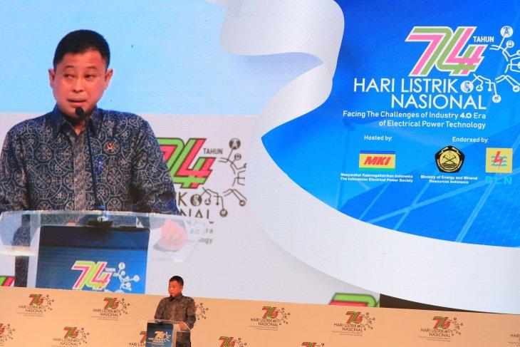 Menteri ESDM Jonan targetkan kapasitas listrik terpasang 90 GW pada 2024