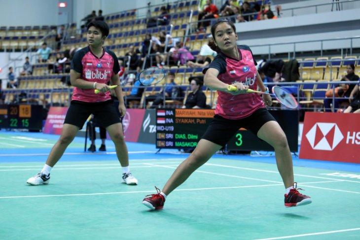 Tiga ganda putri Indonesia melangkah ke perempat final WJC