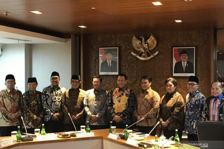 Pimpinan MPR sepakat pelantikan Jokowi-Ma'ruf Amin pukul 14.00 WIB