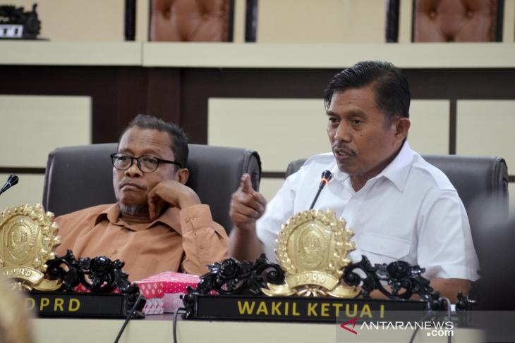 DPRD akan kantongi RPJMD untuk bahas anggaran 2020