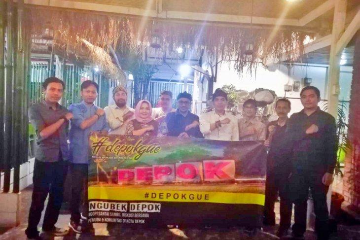 Komunitas 'Depok Gue' nilai Depok Kota yang seksi