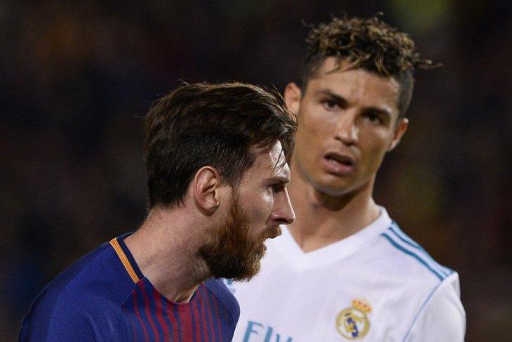Lionel Messi mengaku kangen Ronaldo