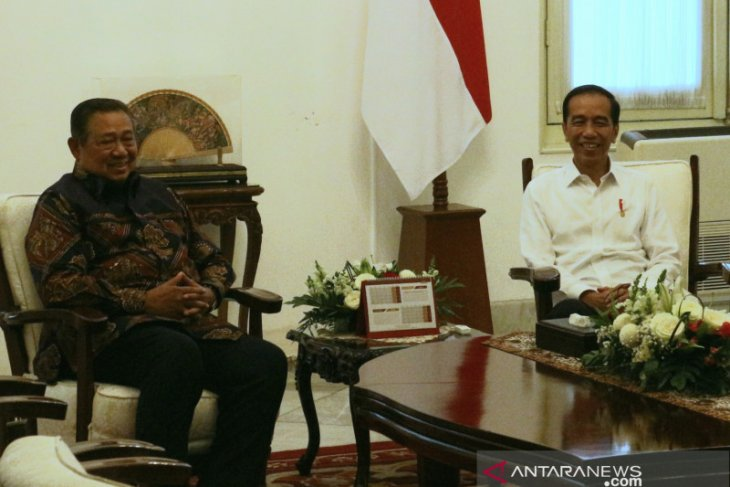 Jokowi, SBY meet to discuss Indonesia's current political state