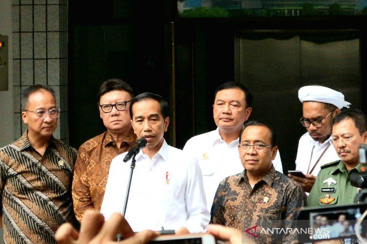 Presiden Jokowi arahkan pengusutan insiden penusukan Menko Polhukam