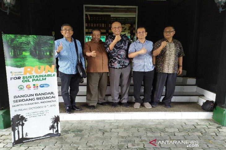 26 pelari asing ikut Indonesia Palm Oil Marathon 2019