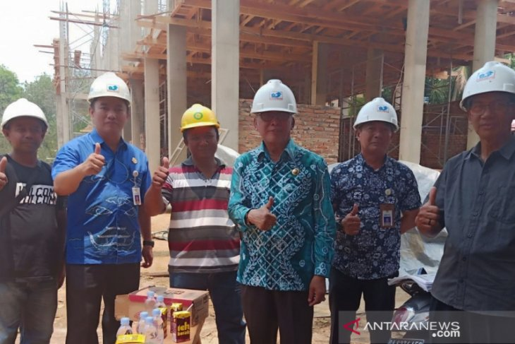 Bupati tinjau pembangunan Asrama Murakata Banjarbaru bernilai Rp3,8 miliar