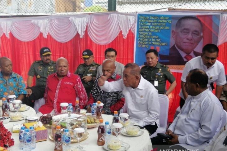 Menhan bertemu tujuh tokoh adat Papua dan Papua Barat