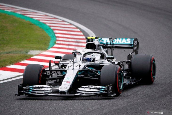 Bottas tercepat di FP1 Grand Prix Jepang