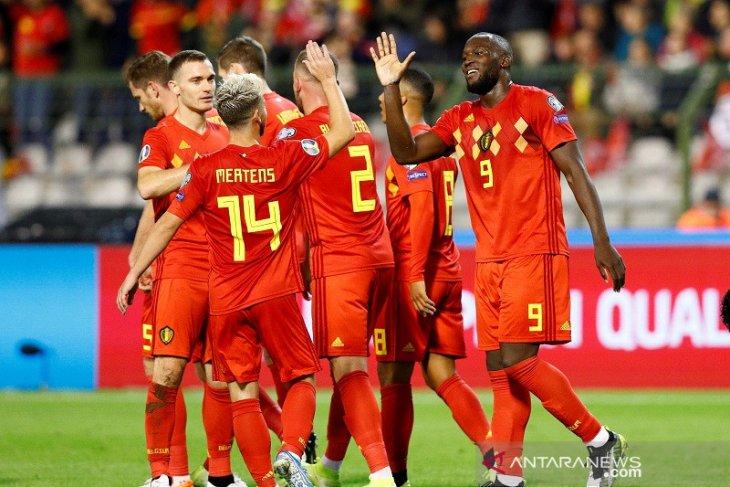Tim Belgia jadi tim pertama lolos ke putaran final